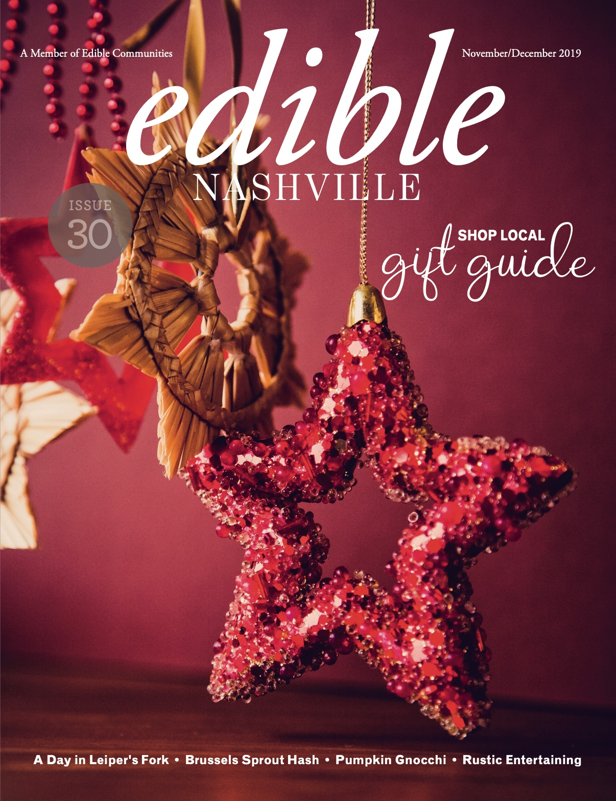 edible NASHVILLE Issue 30: Gift Guide