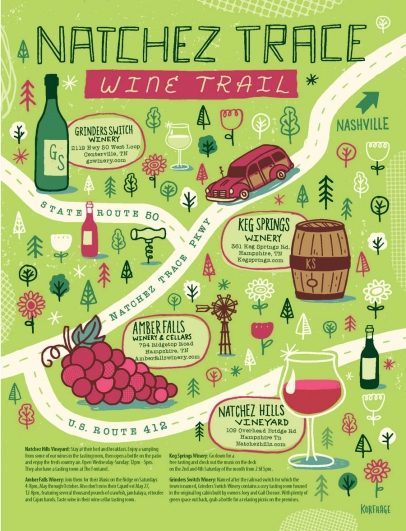 Natchez Trace Wine Trail Nashville, TN