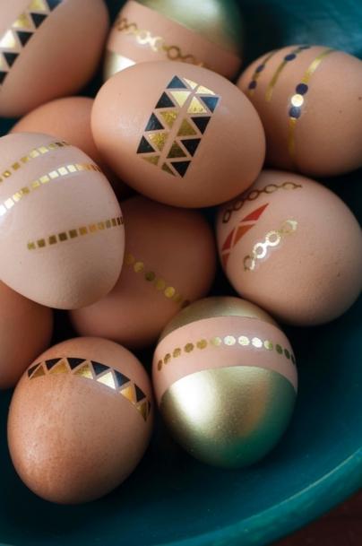 tattooed eggs