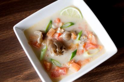 Vegetarian Tom Kha Soup