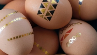 tattooed eggs