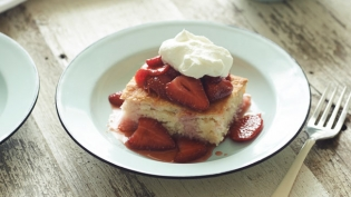 Lockeland Table's one pan strawberry shortcake